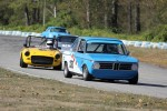 Leigh Anderson (BMW 1600), Al Harvey (MGB), Mark Westlake (Porsche 911), Paul Haym (Datsun 510) - Brent Martin photo