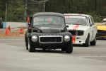 Peter Valkenburg (Volvo PV544), Ian Wood (Volvo 142S) and Al Harvey (MGB) - Brent Martin photo