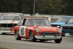 Ralph Zbarsky (MGB GT), Ian Wood (Volvo 142S), Mike Zbarsky (Volvo 142S) and Paul Haym (Datsun 510) - Brent Martin photo