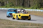 Al Harvey (MGB), Paul Haym (Datsun 510) - Brent Martin photo