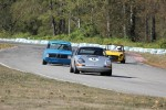 Mark Westlake (Porsche 911), Paul Haym (Datsun 510), Al Harvey (MGB) - Brent Martin photo