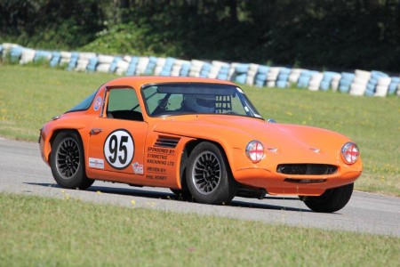 Phil Roney and his TVR Vixen - Brent Martin photo