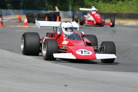 Collin Jackson in his beautifully restored 1973 Brabham BT40 is just one of the fast, classic racing cars that will be competing at the BC Historic Motor Races this weekend. - Brent Martin photo