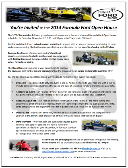 FFord Open House - 2014