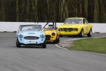 Ivan Lessner, 1959 Austin Healey 100-6 &amp; Al Harvey, 1971 MGB &amp; Glen Gibbons, 1969 Alfa Romeo GTV - Paul Bonner photo