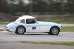 Ivan Lessner (Austin Healey 100-6) exits Turn 9 - Paul Bonner