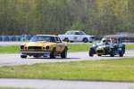 Dennis Repel, 1974 Camaro & Mark Brown, 1969 Lotus 7 & Ian Wood, 1969 Volvo 142S - Paul Bonner photo