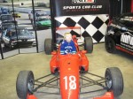A future star tries Michael Lensen's Formula Libre. - VRCBC photo