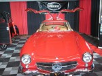 A Mercedes-Benz 300SL Gull Wing was featured on the stand of VRCBC friend Hagerty. - VRCBC photo
