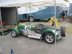 2010 &amp; 2011 REVS Champ Mark Brown&#039;s Lotus Seven. - VRCBC photo
