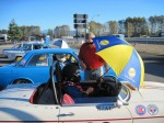 Polesitter 'PI' gets the nicest 'brolly - VRCBC photo