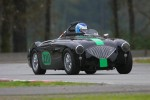 Nick Woodhouse in his beautiful Austin Healey 100-4 - Paul Bonner photo