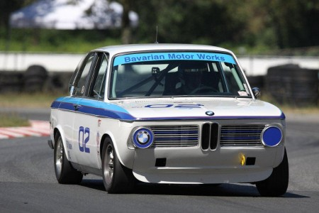 Ian Thomas and his beautiful BMW 2002 - Paul Bonner photo