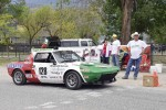 Bernie Hamm and his Fiat X1/9 at the Start Line - Jim Moody photo