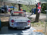 Geoff's Mini at rest - Karen Hockley photo