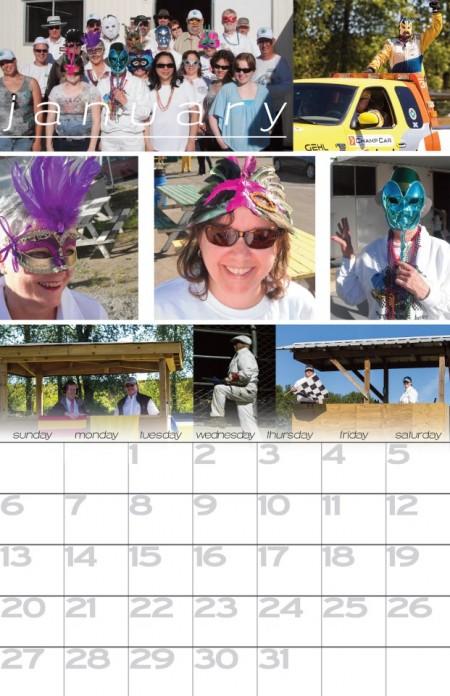 META 2013 Calendar image