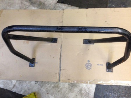 Roll Bar for TR4, TR4A & TR250 - Top View
