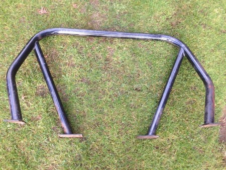 Roll Bar for TR4, TR4A & TR250 - Rear View