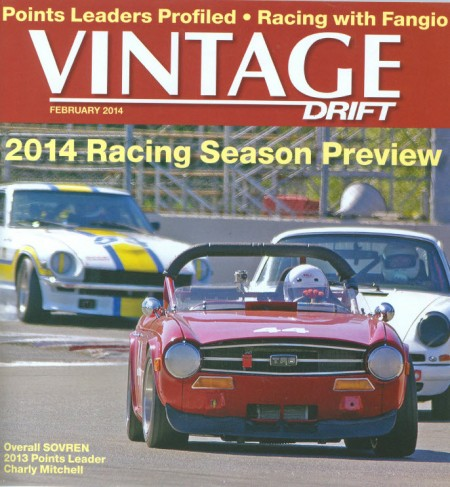 Vintage Drift for February 2014 - cover image courtesy of Martin Rudow and SOVREN; photo by Marshall Autry