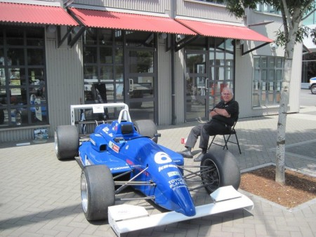 Tom Johnston and his Reynard Formula Atlantic - VRCBC photo